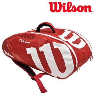 It is going to release it in Wilson Wilson tennis bag case TEAM J 6 PACK team J6 pack racket bag WRZ641806 January ※Reservation
