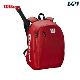 【全品10%OFFクーポン対象】ウイルソン Wilson テニスバッグ・ケース TOUR BACKPACK RED ツアーバックパック WRZ847996