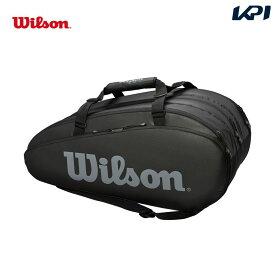 【店内最大2000円クーポン対象】ウイルソン Wilson テニスバッグ・ケース TOUR 3 COMP BKGY ラケットバッグ(ラケット15本収納可能) WRZ849315