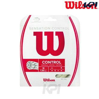 "Wilson(威尔逊)""SENSATION CONTROL(感觉·支配)WRZ941200""硬式网球线(关税及贸易总协定)[猫Point Of Sales可]"