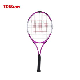 【全品10%OFFクーポン対象】「ガット張り上げ済み」ウイルソン Wilson テニスジュニアラケット ジュニア Ultra Pink 25 ウルトラ ピンク 25 WR027810H