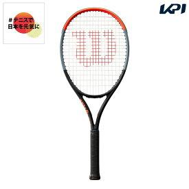 【全品10%OFFクーポン】ウイルソン Wilson テニス硬式テニスラケット CLASH 108 クラッシュ108 WR008811S「#テニスで日本を元気に!プロジェクト」