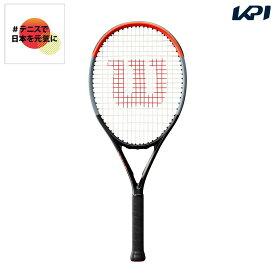 【全品10%OFFクーポン対象】【ガット張り上げ済】ウイルソン Wilson テニスジュニアラケット CLASH 26 クラッシュ26 WR009010S「#テニスで日本を元気に!プロジェクト」