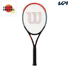 【全品10%OFFクーポン対象】ウイルソン Wilson テニス 硬式テニスラケット CLASH 100UL クラッシュ 100UL WR015811S 「#テニスで日本を元気に!プロジェクト」