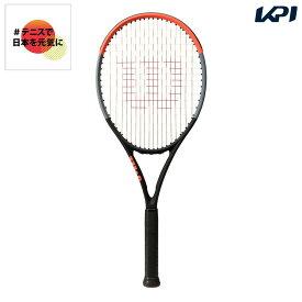 【全品10%OFFクーポン】ウイルソン Wilson テニス 硬式テニスラケット CLASH 100S クラッシュ 100S WR037011S「#テニスで日本を元気に!プロジェクト」