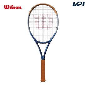 【対象ラケット20%OFFクーポン▼フレームのみ特典〜10/26 2時】「あす楽対応」【フレームのみ】ウイルソン Wilson 硬式テニスラケット CLASH 100 RG ROLAND GARROS クラッシュ 100 ローランギャロス 数量限定 全仏オープン2020モデル WR045311U 『即日出荷』