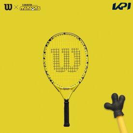 【全品10%OFFクーポン▼】「ガット張り上げ済」ウイルソン Wilson テニスジュニアラケット MINIONS JR 21 ミニオンズ ジュニア WR069010H