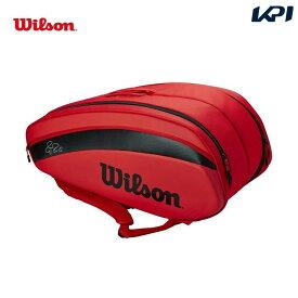 【全品10%OFFクーポン対象】「あす楽対応」ウイルソン Wilson テニスバッグ・ケース FEDERER DNA 2020 12PK ラケットバッグ フェデラーDNA 12本収納可能 WR8006001001 『即日出荷』