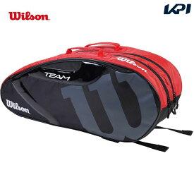 【全品10%OFFクーポン対象】ウイルソン Wilson テニスバッグ・ケース ラケットバッグ TEAM J 1.0 6PK チームJ 1.0 6本収納可能 WR8008602001