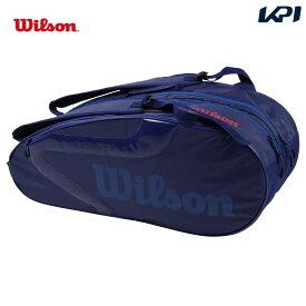 【全品10%OFFクーポン対象】ウイルソン Wilson テニスバッグ・ケース ラケットバッグ TEAM J 2.0 9PK チーム J 2.0 9本収納可能 WR8008802001