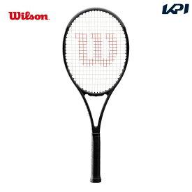 【全品10%OFFクーポン対象】ウイルソン Wilson テニス 硬式テニスラケット PRO STAFF 97 Black in Black プロスタッフ 97 WRT73901S