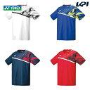 【365日出荷】「あす楽対応」 ヨネックス YONEX テニスウェア メンズ ゲームシャツ(フィットスタイル) 10335 2020SS…