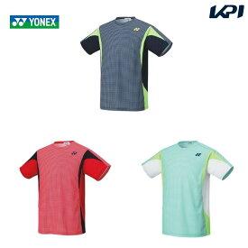 【対象ヨネックス製品10%OFFクーポン▲2/17〜25】ヨネックス YONEX テニスウェア ユニセックス ゲームシャツ(フィットスタイル) 10356 2020SS [ポスト投函便対応]