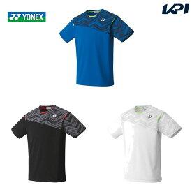 【全品10%OFFクーポン〜8/1】ヨネックス YONEX テニスウェア ユニセックス ゲームシャツ(フィット) 10366 2020SS