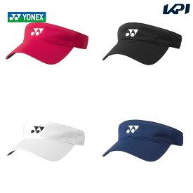 【全品10%OFFクーポン】ヨネックス YONEX テニスキャップ・バイザー レディース サンバイザー 40064