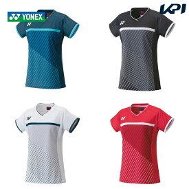 【全品10%OFFクーポン〜9/20】ヨネックス YONEX テニスウェア レディース ゲームシャツ 20597 2021FW
