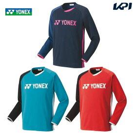 【全品10%OFFクーポン対象】ヨネックス YONEX テニスウェア ユニセックス ライトトレーナー(フィットスタイル) 31039 2020FW