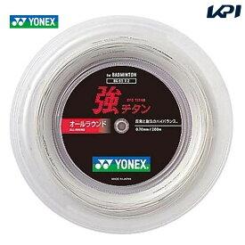 【全品10%OFFクーポン対象】YONEX(ヨネックス)「強チタン 200mロール BG65T-2」バドミントンストリング(ガット)【KPI】