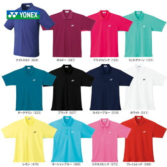 """It is shipment"" (bundling impossibility, collect on delivery impossibility) ""2014 new color appearance"" YONEX (Yonex) ""Uni polo shirt 10100"" software tennis & badminton wear"