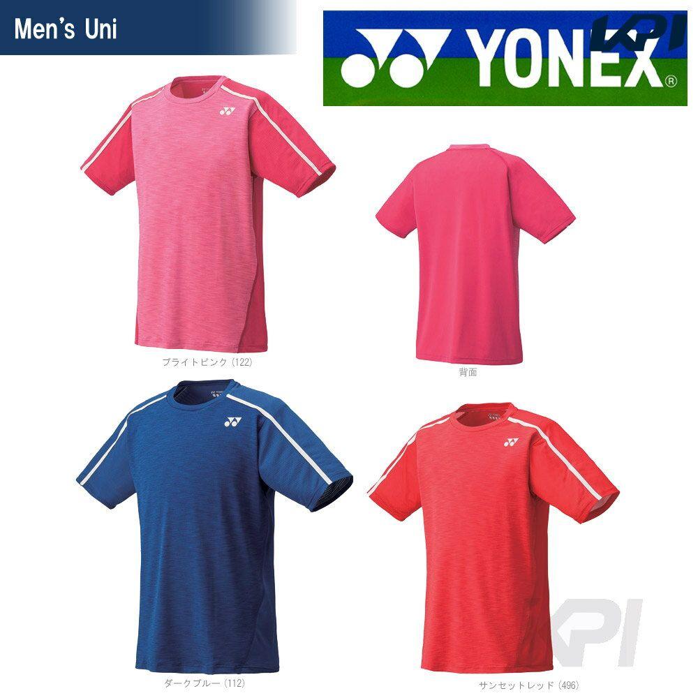 「あす楽対応」YONEX(ヨネックス)「Uni ユニシャツ(スリムタイプ) 10149」テニス&バドミントンウェア「SS」『即日出荷』【kpi_d】