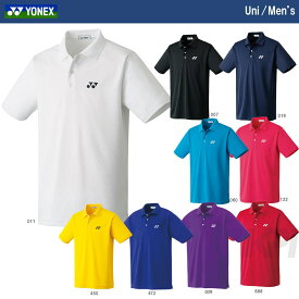 【全品10%OFFクーポン】YONEX(ヨネックス)「Uni ポロシャツ 10300」ウェア[ポスト投函便対応]