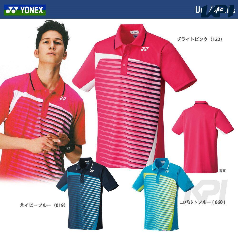 「あす楽対応」YONEX(ヨネックス)「Uni ポロシャツ(スタンダードサイズ) 12109」ウェア【KPI】『即日出荷』【kpi_d】