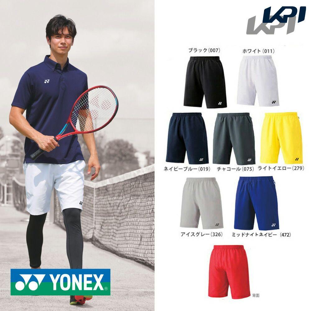 【エントリーでポイント10倍!】「あす楽対応」「2017モデル」YONEX(ヨネックス)「Uni ユニハーフパンツ(スリムフィット) 15048」テニス&バドミントンウェア『即日出荷』