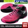 打算在供尤尼克斯YONEX网球鞋男女两用功率靠垫空气RAS冲刺2宽大的GC AERUSDASH 2 WIDE GC全·红土网球场使用的SHTAD2WG 8月下旬开始销售※预订