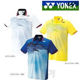 【10%OFFクーポン対象▼〜6/20】「あす楽対応」Yonex(ヨネックス)[ユニポロシャツ(フィットスタイル) 10162]テニスゲームシャツ・パンツ「FW」 夏用 冷感『即日出荷』