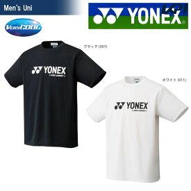 『全品10%OFFクーポン対象』YONEX(ヨネックス)「Uni ベリークールTシャツ 16201」ソフトテニス&バドミントンウェア「FW」[ポスト投函便対応]