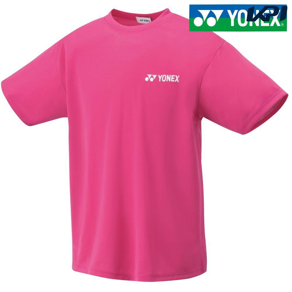 『全品10%OFFクーポン対象』ヨネックス YONEX テニスウェア ユニセックス ユニドライTシャツ 16400-654 2018SS