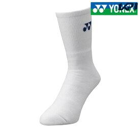 【全品10%OFFクーポン】ヨネックス YONEX テニスアクセサリー メンズ メンズソックス 19120-011[ポスト投函便対応]