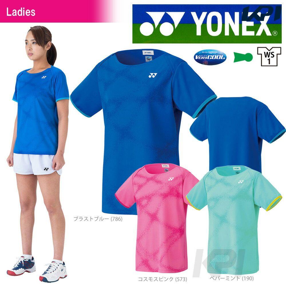 【最大3500円クーポン】「あす楽対応」YONEX(ヨネックス)「Ladies レディース シャツ 20310」テニスウェア「SS」『即日出荷』