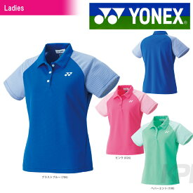 【均一セール】「あす楽対応」YONEX(ヨネックス)「WOMEN レディース ポロシャツ 20354」ウェア「FW」 『即日出荷』[ポスト投函便対応]