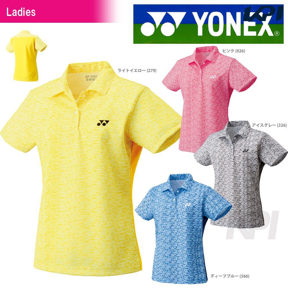 「あす楽対応」YONEX(ヨネックス)「WOMEN レディース ポロシャツ 20365」ウェア「2017SS」『即日出荷』