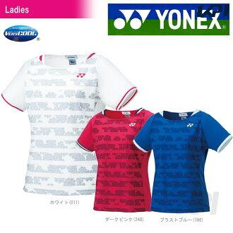 「2017 신제품」YONEX(요넥스)[womens 셔츠(슬림 타입) 20383]테니스&배드민턴 웨어 「2017 SS」