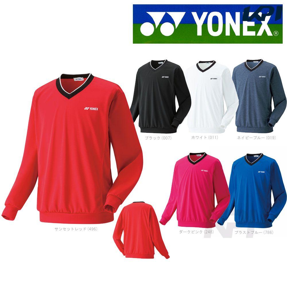 【最大3000円クーポン】「2017モデル」YONEX(ヨネックス)「UNI トレーナー 32019」ウェア「2017SS」