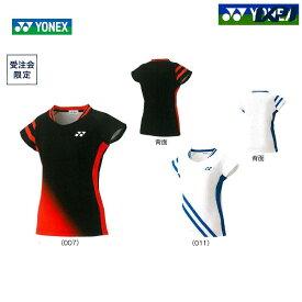 「あす楽対応」ヨネックス YONEX バドミントンウェア レディース ゲームシャツ 数量限定モデル 20504Y 2019SS 『即日出荷』[ポスト投函便対応]