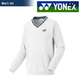 【全品10%OFFクーポン対象】ヨネックス YONEX テニスウェア ユニセックス トレーナー 32026-011 2018FW