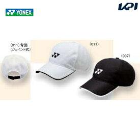 【全品10%OFFクーポン対象】YONEX(ヨネックス)ジュニアメッシュキャップ40002J