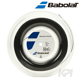 【対象3店舗買いまわり最大10倍 3/4〜】【365日出荷】「あす楽対応」BabolaT(バボラ)「RPM BLAST ROUGH(RPM ブラスト ラフ)125/130 200mロール BA243136」硬式テニスストリング(ガット) 『即日出荷』