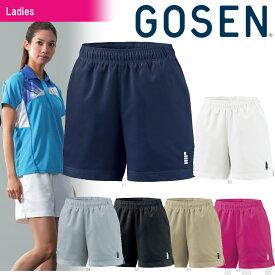 GOSEN(ゴーセン)「レディースハーフパンツ PP1601」テニスウェア「2016SS」[ポスト投函便対応]