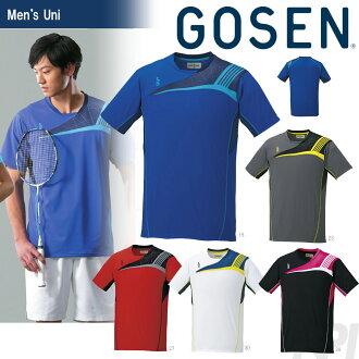 """""""2017型号""""GOSEN(GOSEN)""""UNI游戏衬衫T1608""""网球服装""""2016SS"""""""