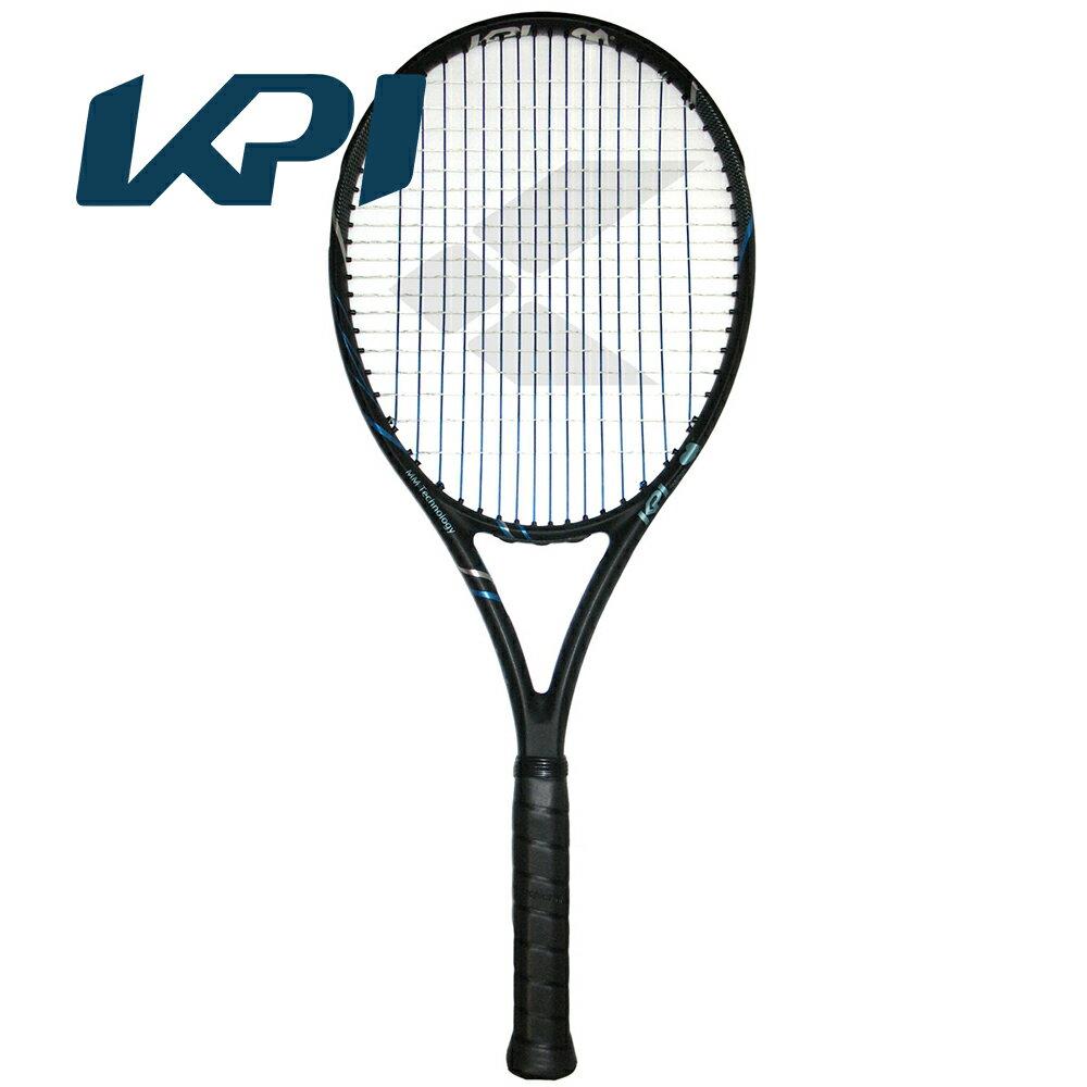 【スポーツタオルプレゼント】KPI(ケイピーアイ)「K air-Black/silver /blue」硬式テニスラケット【KPI】