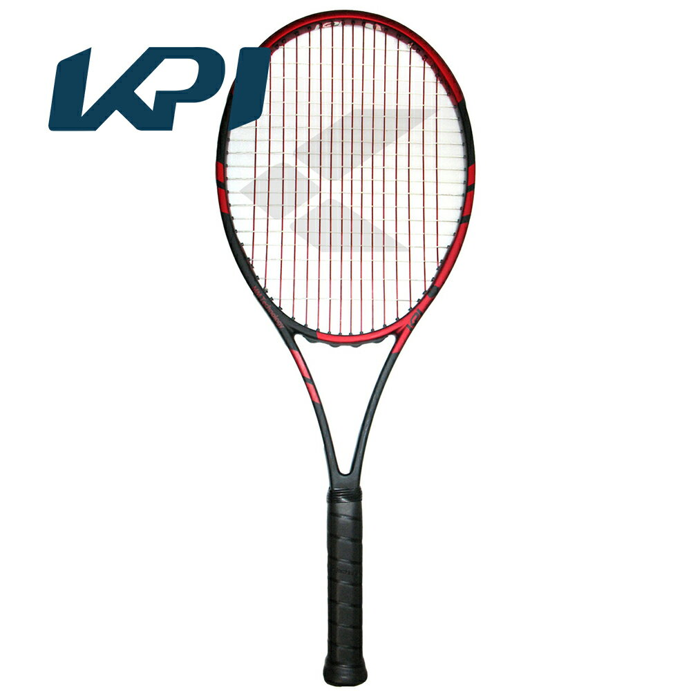 【スポーツタオルプレゼント】KPI(ケイピーアイ)「K tour 295-Black /orange」硬式テニスラケット【テニコレ掲載】【KPI】