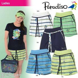 パラディーゾ PARADISO テニスウェア レディース ショートパンツ JCL01S 2018SS[ポスト投函便対応]