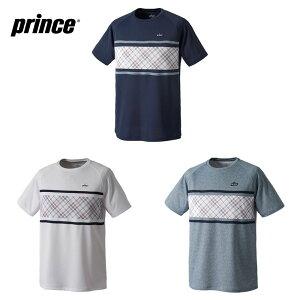 プリンス Prince テニスウェア ユニセックス ゲームシャツ バドミントンウェア MF0071 2020FW [ポスト投函便対応]【5000円以上購入+エントリーでソックスプレゼント】