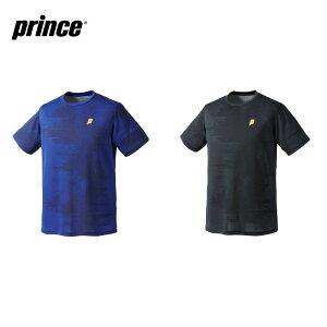 プリンス Prince テニスウェア ユニセックス ゲームシャツ バドミントンウェア MF0076 2020FW [ポスト投函便対応]【5000円以上購入+エントリーでソックスプレゼント】