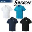 「2017新製品」SRIXON(スリクソン)「UNISEX CLUB LINE ポロシャツ SDP-1608」テニスウェア「2017SS」