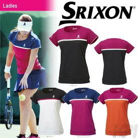「あす楽対応」SRIXON(スリクソン)「WOMEN'S レディース TOUR LINE ゲームシャツ SDP-1760W」テニスウェア「FW」[ポスト投函便対応] 『即日出荷』
